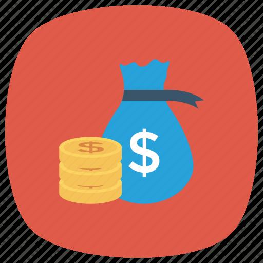 cash, currency, dollar, finance, money icon