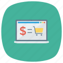 ecommerce, online, onlineshopping, shop, shopping, shoppingcart icon