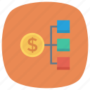 cash, currency, dollar, finance, money, network, socialnetworkmoney icon
