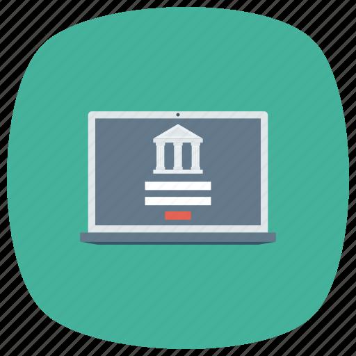 business, homebanking, internet, network, onlinebanking, web icon