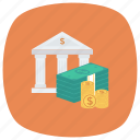 bank, banker, bankvault, business, finance, money, payment icon