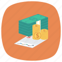 banking, business, chart, finance, money, payment icon