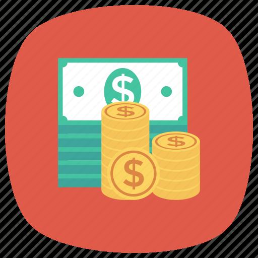 cash, currency, dollar, finance, losechange, money icon