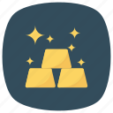 banking, finance, gold, goldjewelry, goldnugget, money icon