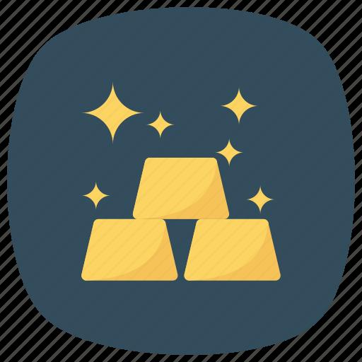 banking, finance, gold, goldjewelry, goldnugget, money icon