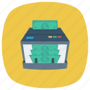 counter, currency, dollar, finance, money, payment, supermarket