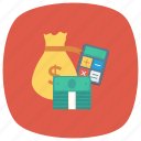 calculator, currency, finance, money, moneybag, shopping