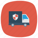 moneyvan, protection, safety, secure, securityguard, securityvehicle, van icon