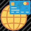 cardsglobalwhite, credit, globe, money, payment