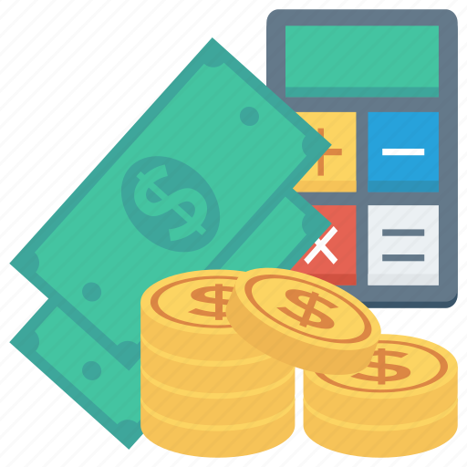 calculator, cash, currency, dollar, finance, money icon