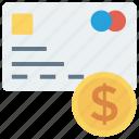 cash, credit, debitcard, finance, money, payment, prepdcard icon