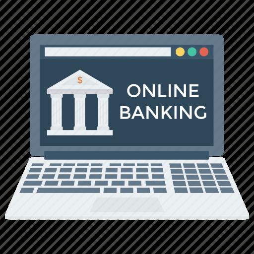 bank, finance, internetbanking, money, online, shopping, web icon