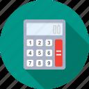 account, financial, calculating, calculation, calculator, banking, mathematics icon