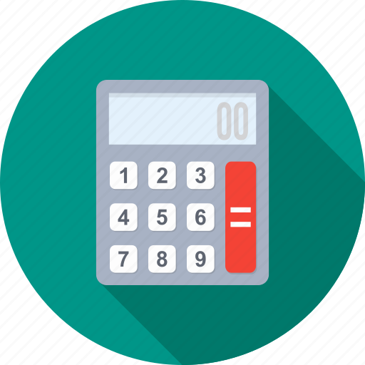 account, banking, calculating, calculation, calculator, financial, mathematics icon