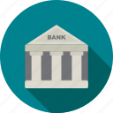 bank, banking, building, funds, guarantee, institution, money icon