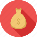 bag, currency, dollar, money, payment, sack, savings icon