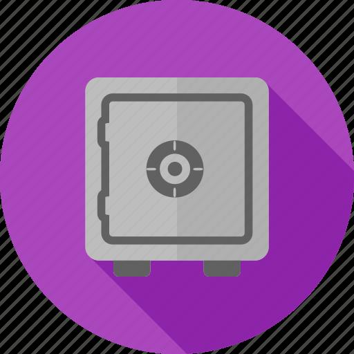 deposit, finance, lock, locker, safe, safety, vault icon