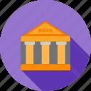 bank, banking, building, economy, institute, money icon