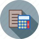 account, calculate, calculation, document, file, finance, report
