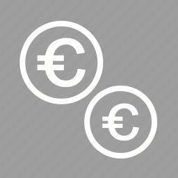 cash, coins, currencies, emolument, monetary resource, money, yen icon