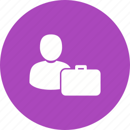accountant, agent, banker, briefcase, customer support, professional, worker icon