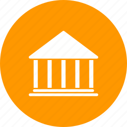 bank, banking, building, economy, institute, money icon