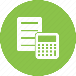 account, calculate, calculation, document, file, finance, report icon