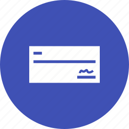 account, bank, banking, finance, record, signed cheque, statement icon