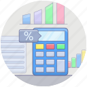 accounting, bookkeeping, budgeting, business calculations, financial accounting, financial calculation icon