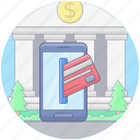 card payment, digital payment, mobile payment, online banking, online payment icon