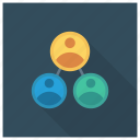 business, businessteam, group, people, team, teamwork, users icon