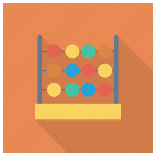 Abacus, calculate, calculator, counting, education, math icon - Download on Iconfinder