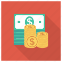 cash, currency, dollar, finance, losechange, money icon