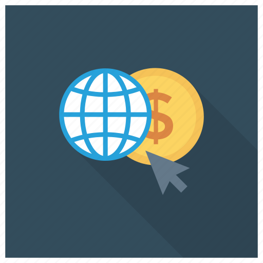 coins, currency, earth, globe, money, worldcurrency icon