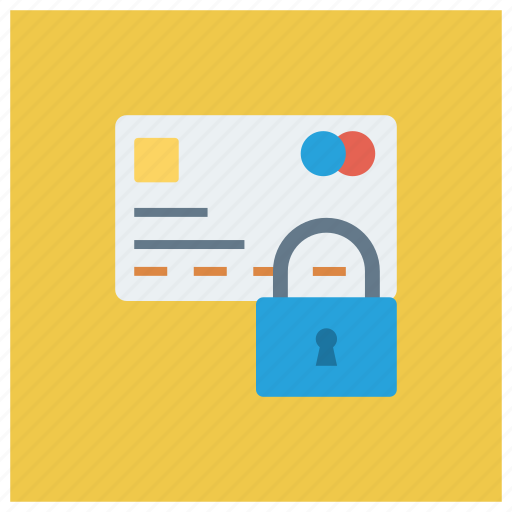 credit, creditcardlock, lock, payment, secure, security, securitycard icon