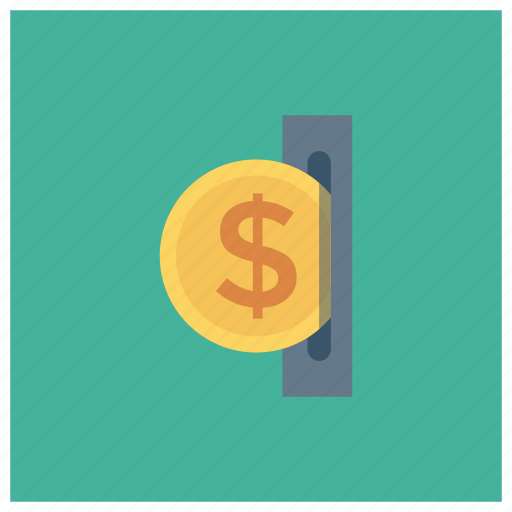 atm, cash, currency, dollar, finance, money icon