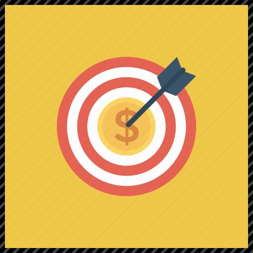 Banking, business, cash, finance, money, target icon - Download on Iconfinder
