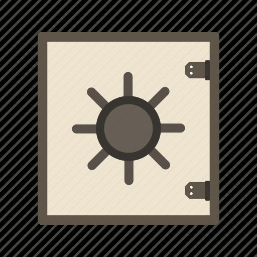 banking, locker, protection, safe, vault icon