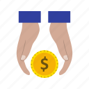 banking, cashout, debt, finance, loan icon