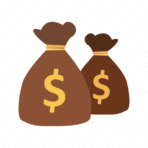 bags, banking, cash, dollar, money icon