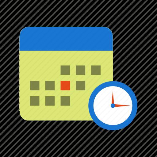 business, calendar, deadline, schedule icon