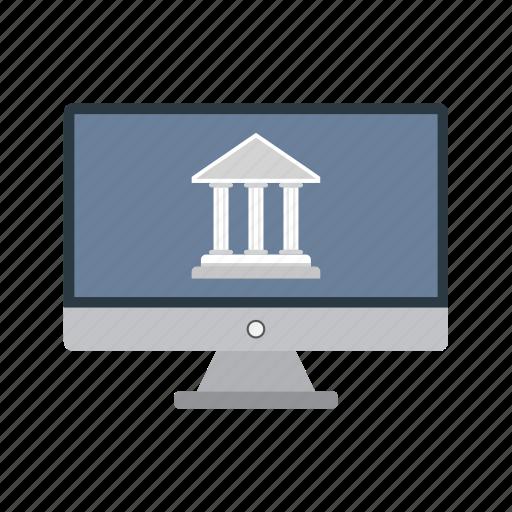 bank, banker, banking, internet banking, online banking icon
