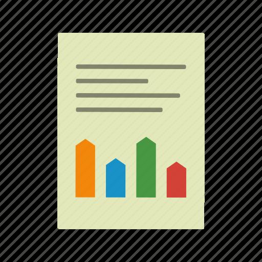 accounting, analysis, article, banking, statistics icon
