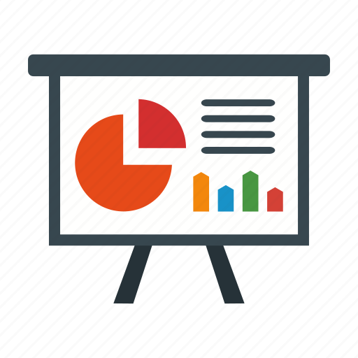 business, chart, presentation icon