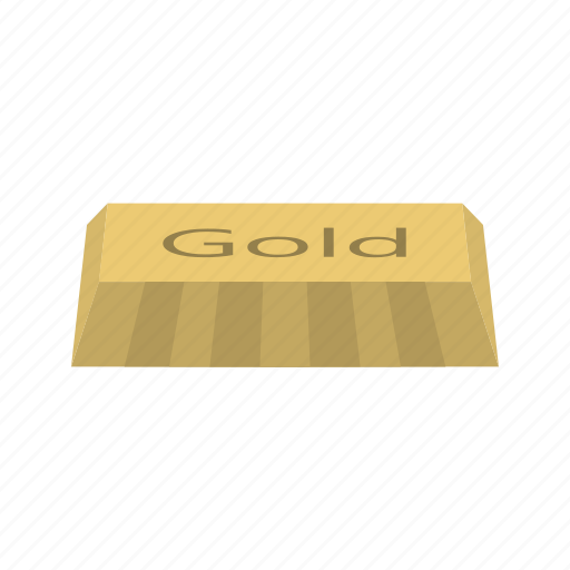brick, gold, ingot icon