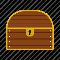 chest, coin, reward, treasure icon