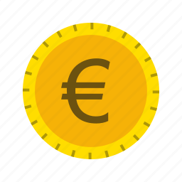 coin, currency, euro icon
