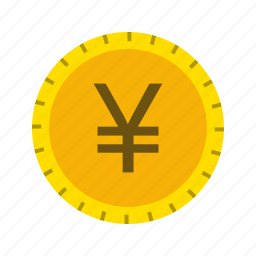 coin, currency, yen icon
