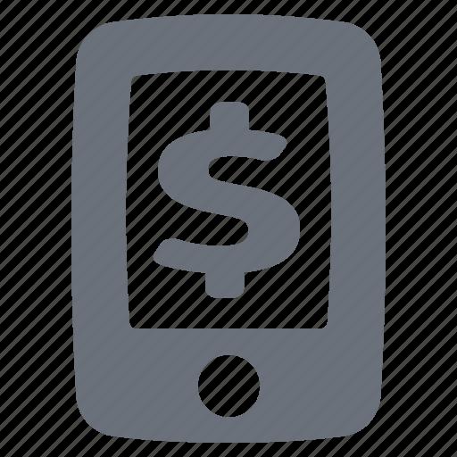 bank, banking, economy, finance, mobile banking, money, pika, simple, smart phone, smartphone icon