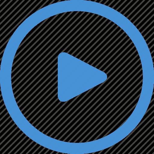play, seo training, tutorial, video, video marketing icon